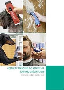 Katalog maszynki do strzyżenia zwierząt Aesculap.