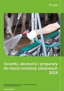 Katalog szczotki, akcesoria i preparaty do mleka Can Agri.